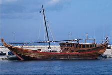 796059 Arab Dow St Tropez Harbor France A4 Photo Print