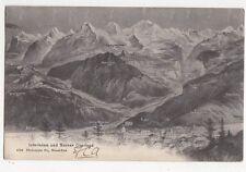 Interlaken & Berner Oberland 1906 Postcard Switzerland 0992
