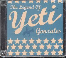 YETI - THE LEGEND OF YETI GONZALES - CD ( NUOVO SIGILLATO ) BOX CREPATO