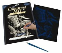Royal and Langnickel - Engraving Art Set – Pterodactyl - Glow in The Dark