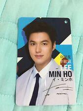 k-actor lotte duty free store lee minho photocard photo card