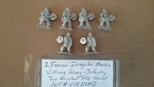 25mm Irregular Miniatures  Viking Army Infantry Two handed Axe - Shield