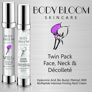 Anti Wrinkle Hyaluronic Acid Vitamin C & E Matrixyl 3000 Face Neck Decollete
