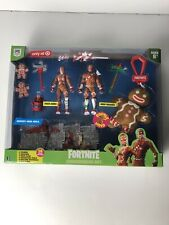 Fortnite Gingerbread Set Exclusive Action Figure 2-Pack with Accessories 14ct