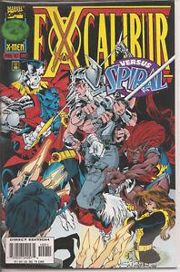 °EXCALIBUR #109 THE BATTLE FOR BRITAIN 3 VON 4 °1997 US Marvel