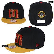 Authentic GUNS N ROSES GNR Logo  Snapback Hat Cap New