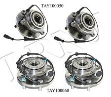 LAND ROVER DISCOVERY 2 1999-2004 FRONT & REAR HUB ASSEMBLY WITH ABC SENSOR SET