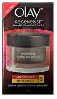 Olay Regenerist Anti Aging Revitalising Hydration Cream, SPF 15, .50 oz