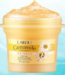 Facial Exfoliating Whitening Peeling Face Cream Gel Scrub 120g Natural Organic