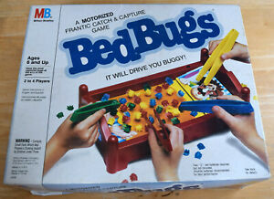 Bed Bugs Board Game Replacement Parts & Pieces 1985 Milton Bradley #4509