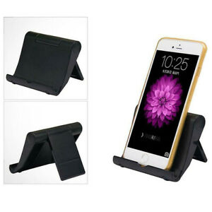 Cell Phone Stand Foldable Desk Holder Mount Dock Cradle for iPhone iPad Samsung