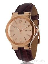 BRAND NEW WOMENS MICHAEL KORS (MK2602) BURGUNDY LEATHER ROSE GOLD WATCH SALE!