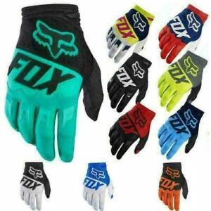 Mens FOX Gloves Racing Motorcycle Gloves Cycling Bicycle MTB Road Bike Riding