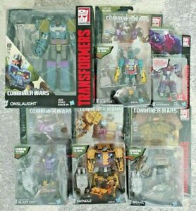 Transformers Combiner Wars Combaticons BRUTICUS with SHOCKWAVE *B3