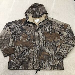 10x Gore-Tex Rainwear Realtree Camo Camouflage Hunting Zip Jacket Men's Size L