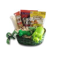 Dog Gift Basket Puppy Pets Treats set Bone Crew Toys