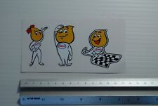 Esso drip and drop stickers Tool box Classic car workshop set of three Decals