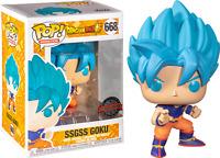 SSGSS Goku 668 Dragon Ball Z Funko Pop Vinyl New in Box