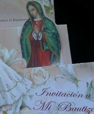 Invitaciones de ,A Mi Bautizo (Spanish Baptism Christening invitations), Favors