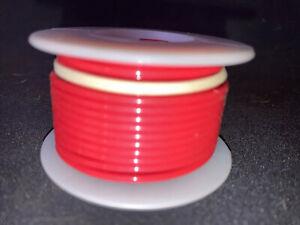 """FBN WT16-02-25  16 awg 19 Strand Type """"E"""" Teflon Red 200°C@600V 25 ft. spool"""