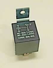 """New listing Cea-1240 Spdt 12Vdc relay 40/30 Amp automotive security has 1/4"""" push-fit blades"""