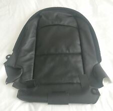 BMW E93 Black Dakota Leather Seat Back Cover Left Side GENUINE 52107253731