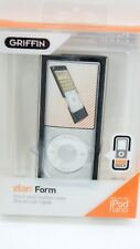 Leather Hard Case Shell Cover for iPod Nano 4G - Griffin Elan Form