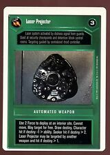 Star Wars Premiere Unlimited : Laser Projector DS CCG Card