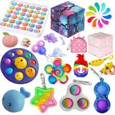 Simple Dimple Sensory Fidget Toy it Set Autismus SEN ADH Stressabbau Spielzeug