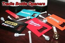 Milwaukee & Makita & Stanley & Stihl BOTTLE OPENER Set Tools Kit Combo Tradie