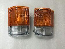 Front Corner Turn Signal Light Lamp for Toyota Land Cruiser FJ60 62 HJ61 Pair