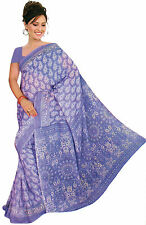 mousseline Bollywood Carnaval SARI ORIENT INDE fo328