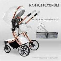 New 2 in 1 Baby Stroller High Landscape Carriage double-sided Newborn Car Casual