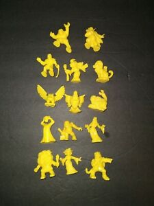 Monster In My Pocket Yellow Figure Lot