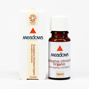Organic Eucalyptus Citriodora Essential Oil (Meadows Aroma) 10ml