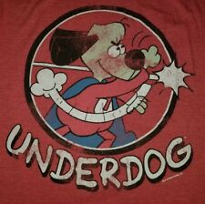 SMALL Savvy Underdog T-shirt punk rock retro classic tv show