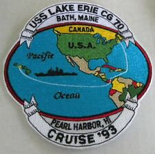 USS lake Erie CG 70 Cruise  Navy Patch