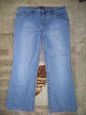 Womens NO BOUNDARIES Bootcut Blue Jeans Size 21