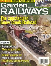 GARDEN RAILWAYS MAGAZINE FEBRUARY 2005 VOL 22, NO 1