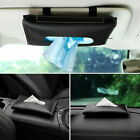 Car Interior Accessories Sun Visor Tissue Box Paper Towel Case Napkin Holder