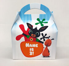 Bing Cbeebies Personalised Children Party Boxes Gift Favour 1ST CLASS POST