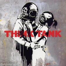 Banksy Blur Think Tank 2003 Album Cover Canvas Graffiti Wall Art Poster Print