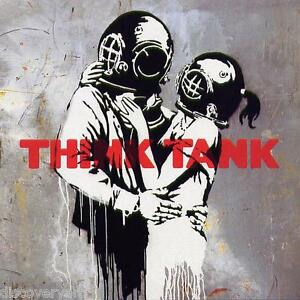 Blur Think Tank 2003 Album Cover Canvas Banksy Graffiti Wall Art Poster Print
