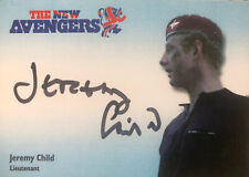 New Avengers Autograph Card Jeremy Child As Lieutenant From 2021 Set