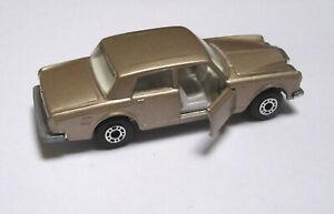 Lesney Matchbox Superfast #39 Rolls Royce SS darker TAN variant 1979 NO PLAY NM