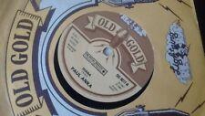 """PAUL ANKA DIANA 1980 UK OLD GOLD 7"""" 45 OG 9077"""