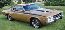 1973 Plymouth Road Runner GTX Matte Black Complete Body Tape Stripe Kit MoPar
