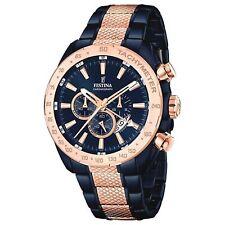 Festina F16886-1 Herren Zweiton Multifunktions Armbanduhr