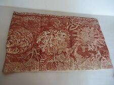 Pottery Barn Coral Lumbar Decorative Pillow Cover Cream 16 x 26