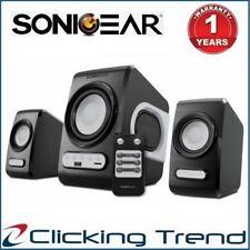 Computer Speakers SonicGear QuatroV USB FM Radio PC Speakers Subwoofer Bluetooth